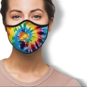 IN STOCK Fast Ship USA Tie Dye Cotton Face Mask